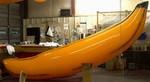 banana shape sealed air balloon